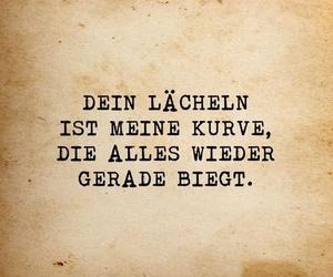 deutsch, lächeln, and liebe image