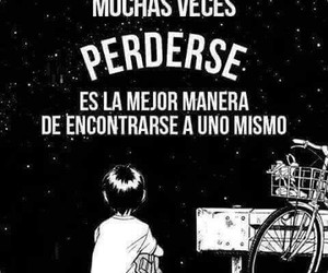 frases, perderse, and quotes image