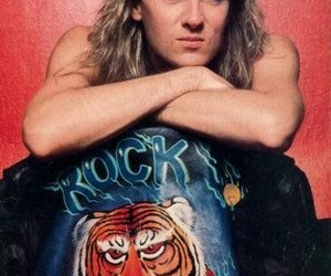 80s, def leppard, and singer image