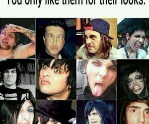 bands, green day, and black veil brides image
