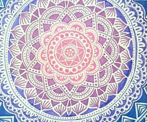 mandala, pattern, and wallpaper image