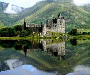 scotland and castle image