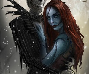 jack, sally, and nightmare before christmas image