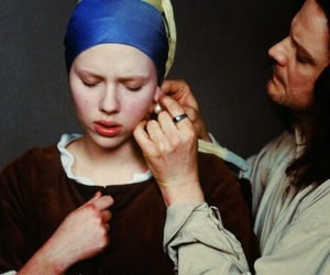 Colin Firth, johannes vermeer, and maid image