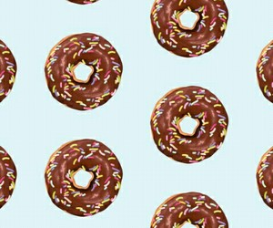 donuts, background, and pattern image