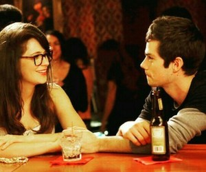 zoey deschanel, dylan o'brien, and new girl image