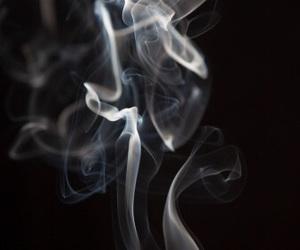 edit, overlay, and smoke image