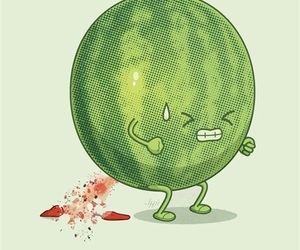 watermelon and green image