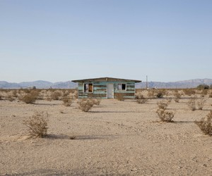 blue, desert, and house image