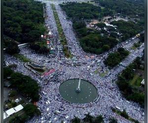 indonesia, aksi damai, and islam image