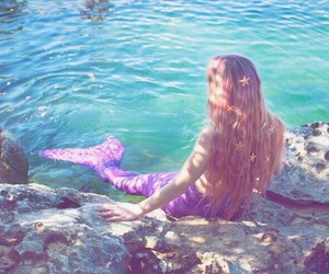 mermaid and sea image