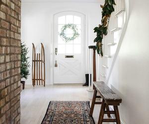 christmas, living room, and loft image
