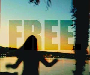 free, sky, and tumblr image