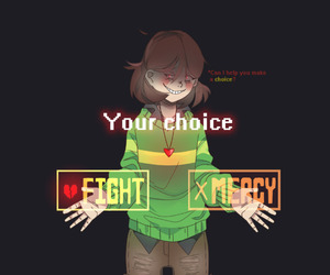 game, genocide, and undertale image