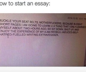 funny, school, and essay image