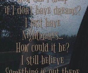 dark, dreams, and Lyrics image