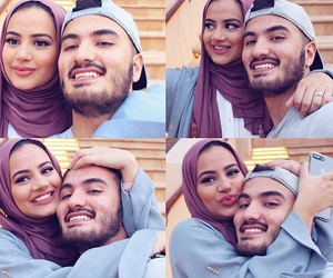 couple and hijab image
