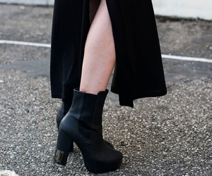 aesthetic, boots, and heels image