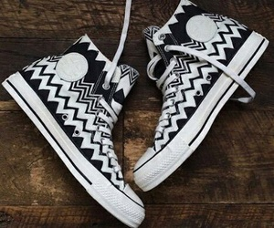 all stars, black, and converse image