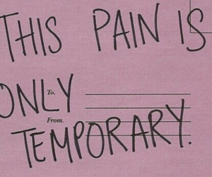quote, quoteoftheday, and pain image