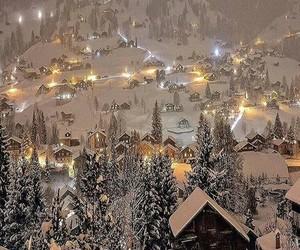 beautiful, winter, and christmas image