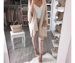 fashion, heel shoes, and beautiful beauty love image