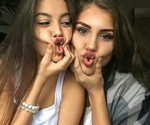 best friends, bff, and sisters image