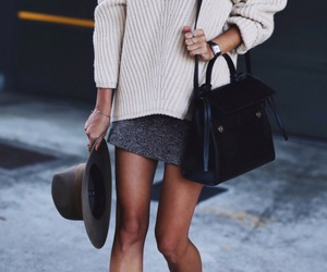beauty, chic, and hat image