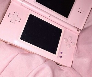 pink, nintendo, and grunge image