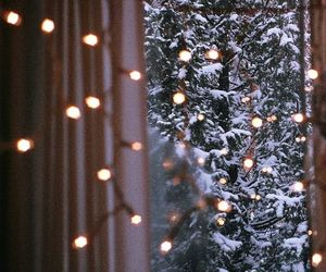 baby, decor, and winter image