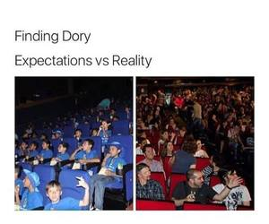 funny, dory, and finding dory image
