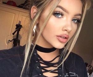 beauty, eyebrow, and fashion image