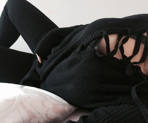 body, girl, and sweater image