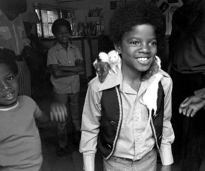 cute kid, smile, and king of pop image