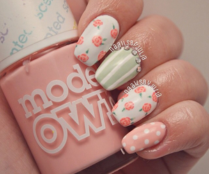 dots, fashion, and flowers image