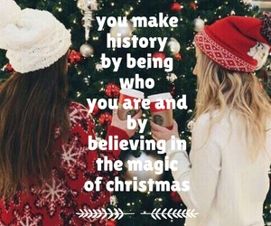 believe, best friends, and christmas image