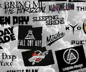 bands, emo, and music image