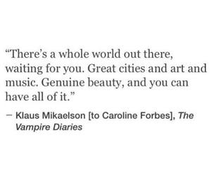 quotes, the vampire diaries, and tvd image