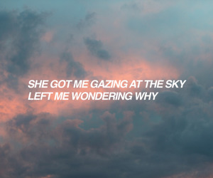 sky, quote, and tumblr image