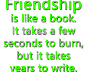 book, quotes, and friendship quotes image