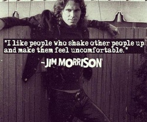 Jim Morrison and quote image