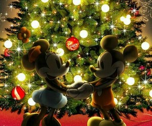 christmas, disney, and wallpaper image