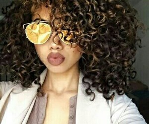 beauty, hair, and curly image