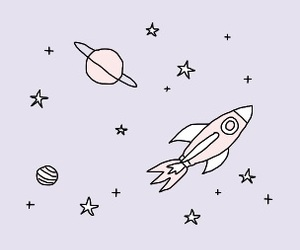 pastel, stars, and aesthetic image