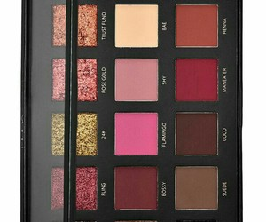 makeup, eyeshadow palette, and rose gold edition image