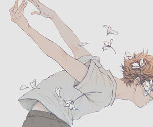 haikyuu, anime, and art image