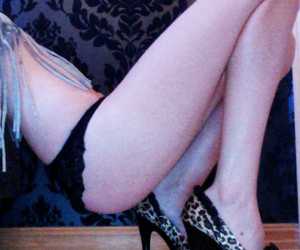 legs, leopard, and shoes image
