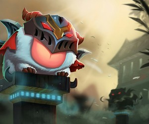 zed, league of legends, and poro image