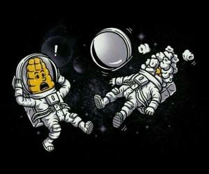funny, pipoca, and universo image