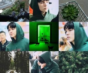 green, Seventeen, and vernon image
